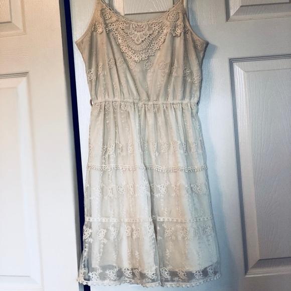 Cream Country Dress